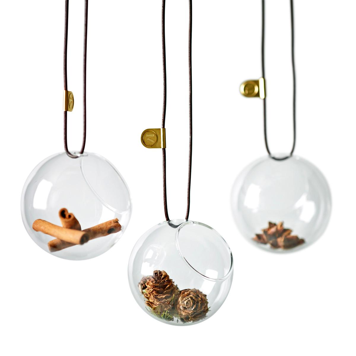 See-Mee-Glaskugeln-Gruppe-Weihnachten