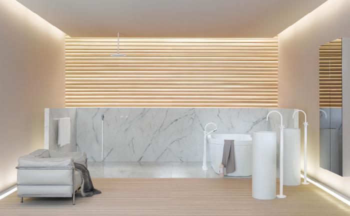 minimalistische-Badezimmer-Ideen