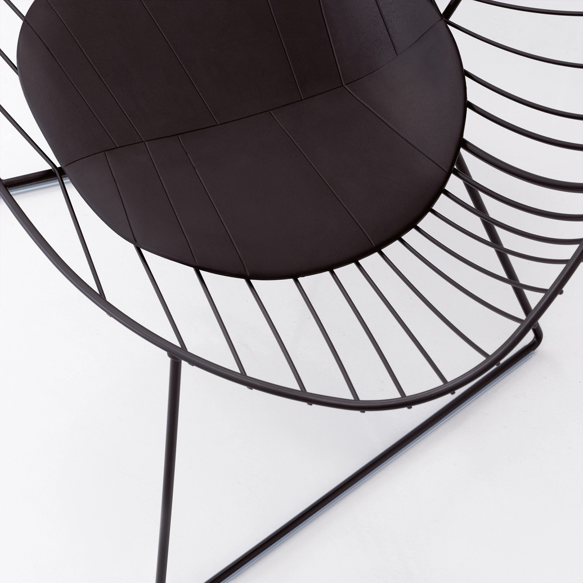 Leaf-Lounge-schwarz-Detail