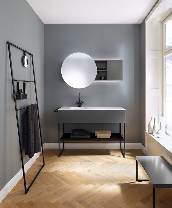 minimalism bathroom