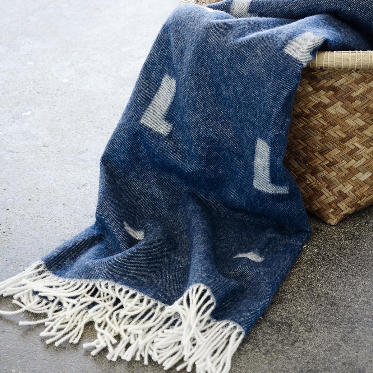 Wolldecke Iota – Skagerak, royal blue