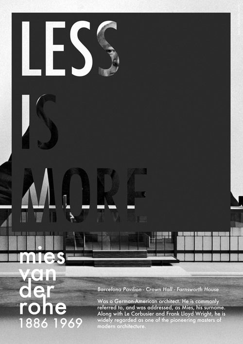 Less is more - minimalism